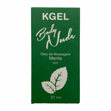 KGEL BODY NUDE HOT MENTA 37ML