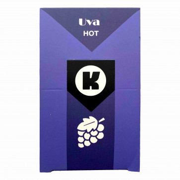 KGEL HOT UVA 5ML - CAIXA COM 5 SACHES